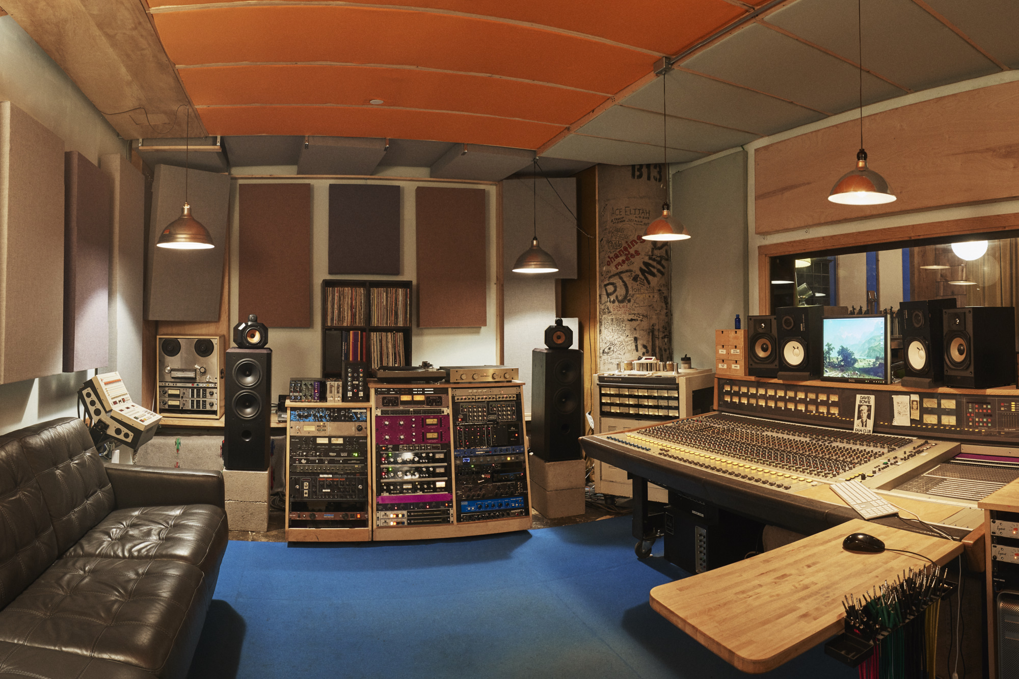 The Seaside Lounge Recording Studios, Brooklyn, New York. Vibe for ...